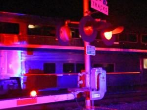 A 16-year-old boy was struck and killed by an Amtrak train early Sunday, Aug. 16, 2015, in Kenly. Photo by John Payne.
