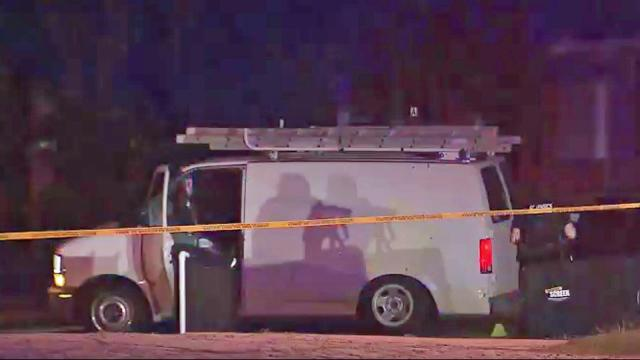 A body was found near a white van on East Pettigrew Street in Durham early Monday.