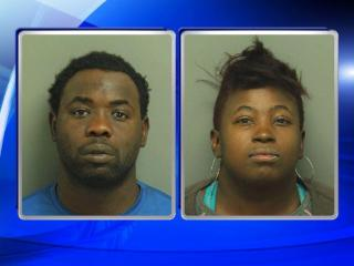 Jillian Randel Davis, 29, and Leroy Blake, 25, were both charged with intentional child abuse inflicting serious physical injury.