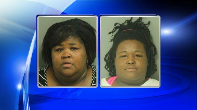 Ahesha Marie Taylor, left, and Tiffany Renee Holder