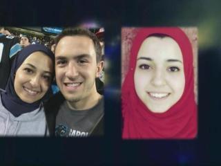 Deah Barakat, Yusor Mohammad and Razan Abu-Salha