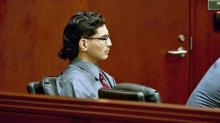 IMAGE: Jurors witness volatile exchanges between Santillian, investigators in taped interview