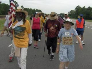 "The ""Journey for Justice,"" an NAACP march that began in Selma, Ala. and will conclude in Washington D.C., arrived in North Carolina this weekend."