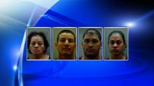 IMAGES: Eight arrested in Edgecombe County cocaine bust