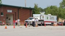 IMAGE: Mold shuts down Franklin County Health Department