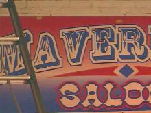 Maverick's Saloon caught fire early Wednesday, Sept. 9, 2015.