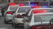 Durham police cars
