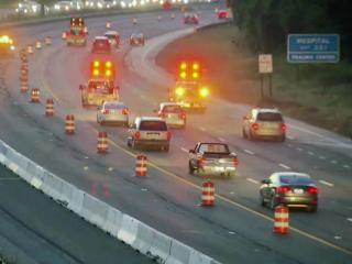 The Interstate 40 Fortify rebuild project will again shift traffic patterns around Raleigh overnight Tuesday.