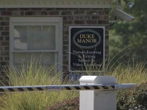 A burglary suspect was shot and killed early Thursday at an apartment complex in Durham, police said.