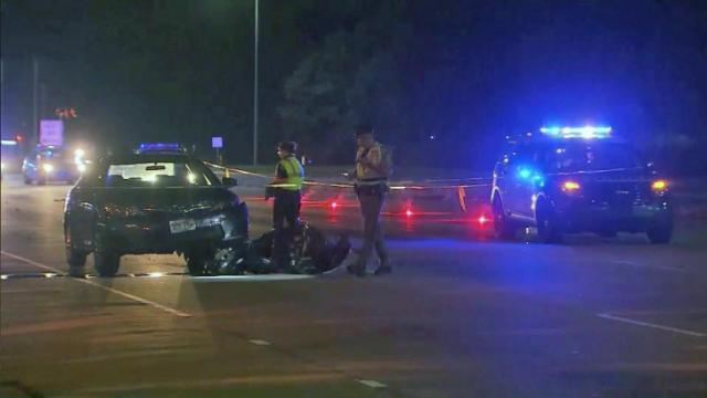 Raleigh police charged a 26-year-old man with felony hit-and-run early Saturday in connection with a crash that happened late Friday on Capital Boulevard.
