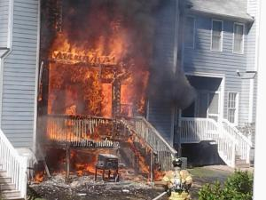 Fire destroys home of Raleigh police officer