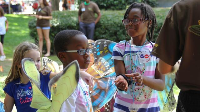 Thousands flock to the Museum of Natural Sciences for BugFest 2015 on September 19th, 2015. This years bug theme is Cicadas, featuring tons of bug-themed exhibits, games and activities. (Lexi Baird / WRAL.com