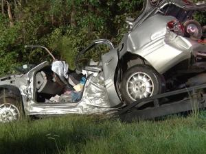One person was injured in this wreck on I-95 in Johnston County on Sept. 19, 2015.
