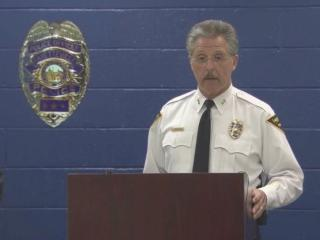 It was clear during Monday's press conference that Fayetteville Police Chief Harold Medlock was upset.