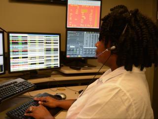 Raleigh-Wake 911 center telecommunicator Latisha Walter