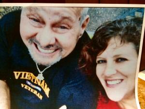 Joanna Madonna with her late husband, Jose Perez, whom she is accused of murdering.