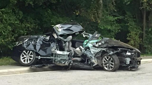 One person is dead following a car crash on N.C. Highway 54 in Durham Thursday afternoon, authorities said.