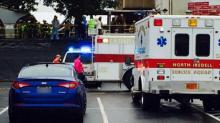 IMAGE: Report: 25 people taken to hospital after canopy structure collapses at western NC high school