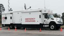 FEMA stocks supplies at Fort Bragg