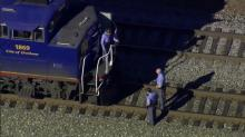 Sky 5 train accident at NC State