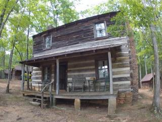 Dr. Bob Hart has spent the past 40 years rebuilding dilapidated cabins and filling them with artifacts on his 200 acre property near Hickory.