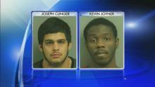 IMAGE: Two men, one juvenile charged in connection with Raleigh robberies