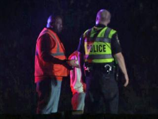 An unidentified pedestrian died early Tuesday after being hit by a street sweeper on U.S. Highway 15-501 in Durham, police said.