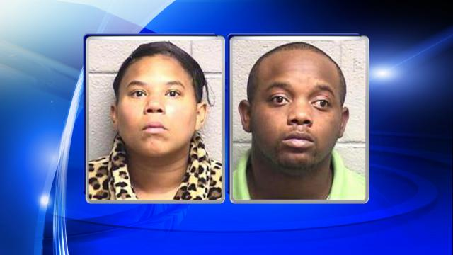 Willie Lee Martin III and Jessica Naomi Watkins are each charged with felony child abuse.