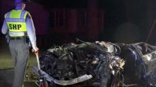 IMAGES: Man, 28, killed in single-car wreck in Garner