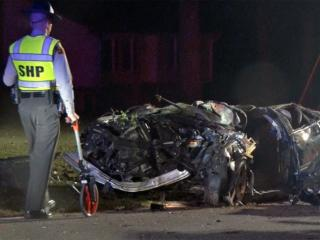 A 28-year-old man died early Saturday in a one-vehicle wreck on Pierce Road in Garner, North Carolina State Highway Patrol officials said.