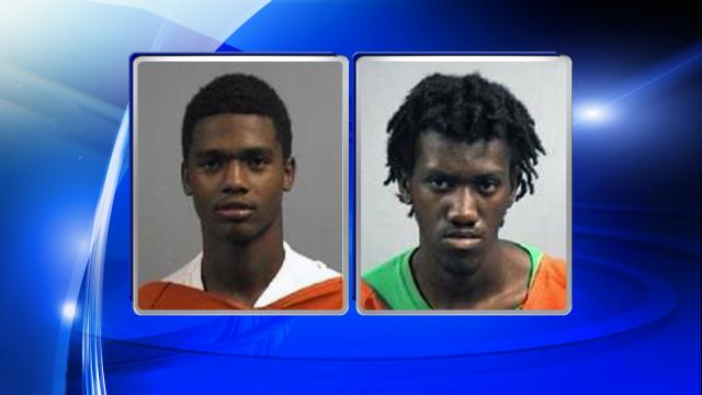 Corey Devon Sutton Jr., 17, of 416 Denmark St., and Terrance Lavon Forbes, 18, of 302 Olivia Lane, are each charged with first-degree murder in the shooting death of 32-year-old Abdullah Ali Whitaker, of Goldsboro.