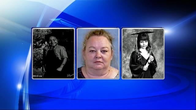 On Saturday, Robin Hadfieldrmims, 44, was reported missing from her home at 4721 Desert Ridge Road. At the time of her disappearance, she was said to be with her 7-year-old granddaughter, Ariyanna Gaston and 7-year-old Crystan Hope Thackeray.