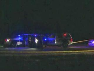 Durham police are investigating a homicide after a man was found dead in the back of a car on U.S. Highway 70.