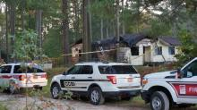 IMAGES: Man killed in blaze at Garner home