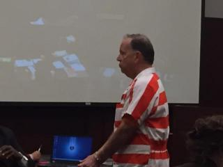 Thomas Harding Dreyer appeared in a Wake County courtroom Oct. 22, 2015, on charges of indecent liberties with a child and soliciting by computer.