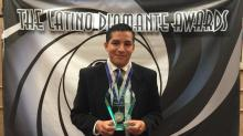 IMAGES: Student honored at Latino Diamante awards