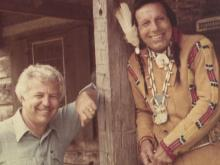 Iron Eyes and Bob Timberlake