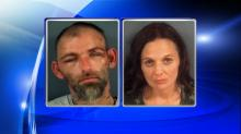IMAGES: Homeless couple arrested in 7-county crime spree
