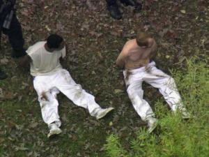 Escaped inmates captured in Raleigh