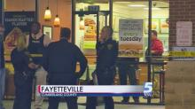 IMAGES: Employee of Fayetteville Subway shot during robbery; suspect sought
