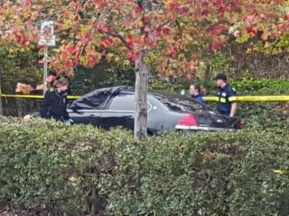 Authorities in Durham were investigating Sunday Nov. 8, 2015 after a passing motorist found a man's body inside a car in the 1900 block of Lakewood Avenue.
