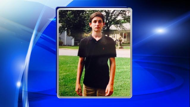 An Apex teenager reported missing over the weekend was home with his family by Monday afternoon.