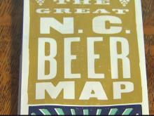 Beer map tracks North Carolina breweries