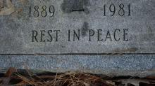IMAGES: Volunteers try to keep stories behind Oberlin Cemetery alive