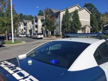 Two people were found dead Saturday morning at an apartment complex in southwest Raleigh, police said.