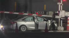 IMAGE: Train collides with car in Morrisville; 2 killed