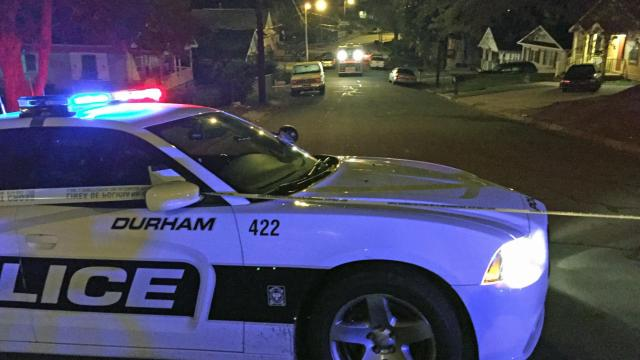 An unidentified man was killed early Monday in a shooting on Scout Drive in Durham, police said.