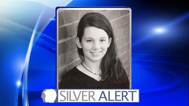 The North Carolina Center for Missing Persons issued a Silver Alert for Hannah Grace Allen at about 1 a.m. Monday after she went missing from a home in the 300 block of Hidden Forest Road in Louisburg.