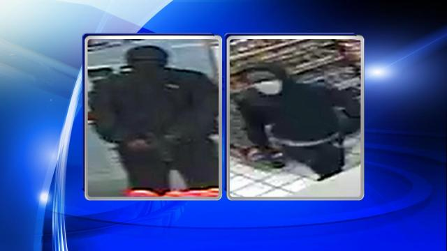 Authorities said that two men entered a Kangaroo convenience store at 2820 Lillington Highway in Spring Lake at 1:35 a.m.