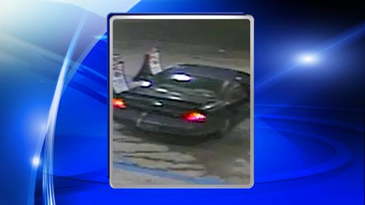 Police said that the men left the store and got into a 1990's model black Chevrolet Monte Carlo with a donut spare tire on the front passenger side and a strap around the rear bumper that extended into the trunk. The paint on the hood and trunk of the car was faded and peeling off, said the Cumberland County Sheriff's Office.